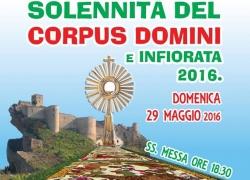 Solennità del Corpus Domini e infiorata 2016