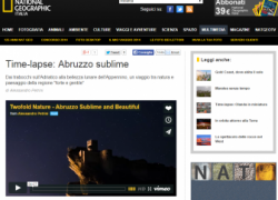 """Anche Punta Aderci nel video """"Twofold Nature"""" pubblicato da National Geographic"""