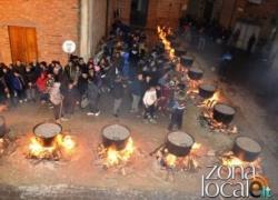 A Pollutri una 'notte di fuoco' per la festa di San Nicola