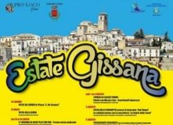 Gissi. Tutti gli eventi in calendario per l'Estate Gissana. Agosto con Giovanni Cacioppo