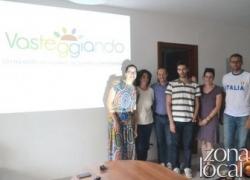 Delegazione lituana in visita  presso gli uffici di Vasteggiando