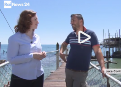 """Sul canale RAI News i Trabocchi e il Brodetto alla Vastese nella puntata di """"Mordi e Fuggi"""""""