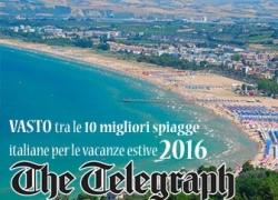 Il TELEGRAPH elegge VASTO tra le 10 spiagge italiane per le vacanze estive 2016