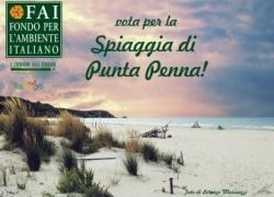 """Spiaggia di Punta Penna: votiamola come """"Luogo del Cuore"""" del FAI"""